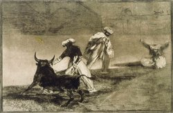 They Play Another with The Cape... From L by Francisco De Goya