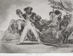 This Is Too Much! (fuerte Cosa Es!) From The Series The Disasters of War (los Desastres De La Guerra... by Francisco De Goya