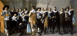 Company of Captain Reinier Reael, Known As The 'meagre Company' by Frans Hals