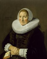 Portrait of an Elderly Woman by Frans Hals