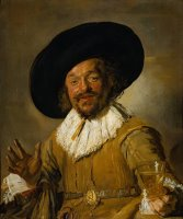 The Merry Drinker by Frans Hals