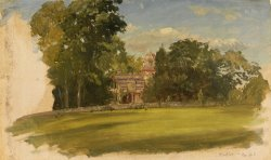 House in Hudson, New York by Frederic Edwin Church