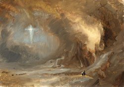 Vision of The Cross by Frederic Edwin Church