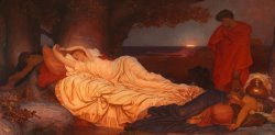 Cymon And Iphigenia by Frederic Leighton