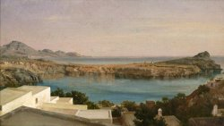 Lindos, Rhodes by Frederic Leighton