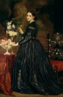 Mrs James Guthrie by Frederic Leighton