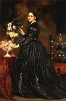 Mrs. James Guthrie by Frederic Leighton