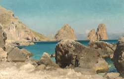 Rocks of the Sirens by Frederic Leighton