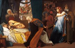 The Feigned Death of Juliet by Frederic Leighton