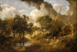 Landscape in Suffolk by Gainsborough, Thomas