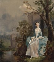 Portrait of a Woman by Gainsborough, Thomas
