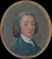 Portrait of a Young Man with Powdered Hair by Gainsborough, Thomas