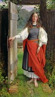 Faith by George Dunlop Leslie