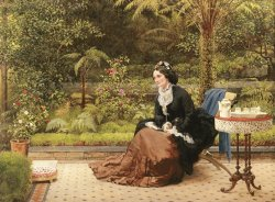 Five Oclock by George Dunlop Leslie