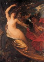 Orlando Pursuing The Fata Morgana by George Frederick Watts