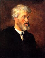 Portrait of Thomas Carlyle by George Frederick Watts