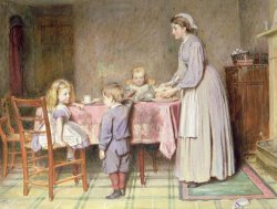 Tea Time by George Goodwin Kilburne