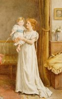 The Master Of The House by George Goodwin Kilburne