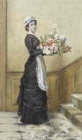 The New Arrangement by George Goodwin Kilburne
