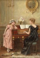 The Recital by George Goodwin Kilburne
