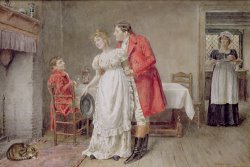 The Return Of The Huntsman by George Goodwin Kilburne