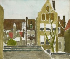 A Group of Houses by George Hendrik Breitner
