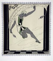 Cleopatre From The Series Designs on The Dances of Vaslav Nijinsky by Georges Barbier