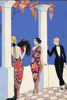 The Taste Of Shawls by Georges Barbier
