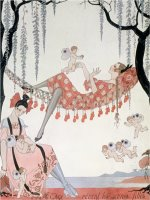 What Do Young Women Dream of a Quoi Revent Les Jeunes Filles by Georges Barbier