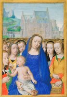 Virgin And Child with Female Saints by Gerard David