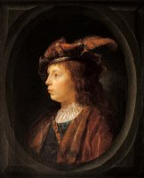 Head of a Youth by Gerrit Dou