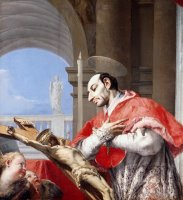 Saint Charles Borromeo by Giovanni Battista Tiepolo