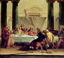 The Last Supper by Giovanni Battista Tiepolo