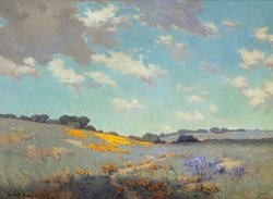 Patch of Poppies by Granville Seymour Redmond
