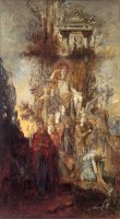 The Muses Leaving Their Father Apollo to Go And Enlighten The World by Gustave Moreau