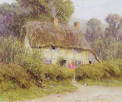 A Country Cottage by Helen Allingham