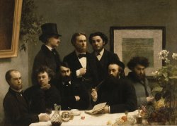 By The Table by Henri Fantin Latour