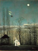 A Carnival Evening by Henri Rousseau