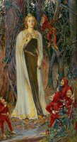 Snow White by Henry Meynell Rheam