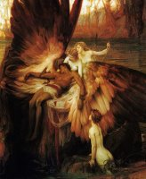 Lament for Icarus by Herbert James Draper