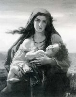 The Gypsy Mother by Hughes Merle