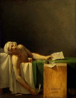 Marat Assassinated by Jacques Louis David