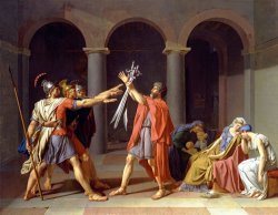 Oath of The Horatii by Jacques Louis David