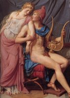 The Courtship of Paris And Helen by Jacques Louis David