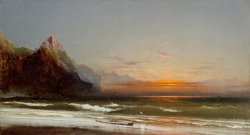 Evening on The Seashore, 1867 by James Hamilton