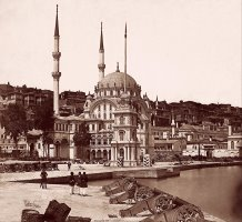 Nusretiye Mosque And The Tophane Square by James Robertson