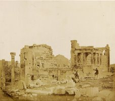 View of The Erechtheum From The Southwest by James Robertson