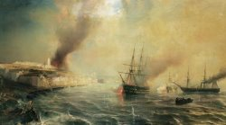 Bombardment of Sale by Jean Antoine Theodore Gudin