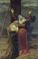 The Virgin at the Foot of the Cross by Jean Joseph Weerts