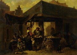 At The Butchers Market by Johan Mari Ten Kate